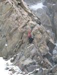 На перевале Крумкольский Провал в поисках тура (найден там)