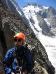 На скалах после схода со льда