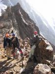 Группа на перевале Кшемыш (2Б, 4180 м)