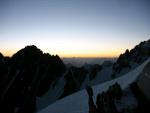 Рассвет на высоте 4800 м