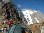 Лагерь на перевале Кшемыш
