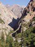 Арпа уходит в каньон