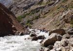 1-й каньон, препятствие #8. Выше устья р. Мынбугу