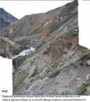 Характер движения левым берегом р.Койкап выше впадения Талды-су и способ обхода главного каньона (1)