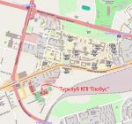 Розташування турклубу відносно станцій метро і залізниці