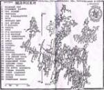 Карта печери Млинки