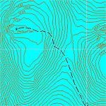 Векторная карта Приэльбрусья для GPS