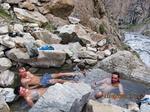 Релакс в горячих родоновых ваннах ущелья Арча-баши