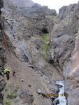 Средняя часть каньона к р. Арча-баши