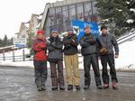 Группа в полном составе на Яблуницком перевале