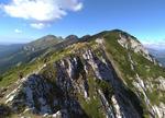 Підйом на вершину г. Ascuţit вздовж скельних гребенів