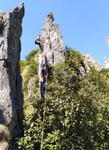 Підйом на перевал Шпиці (1Б). Перша мотузка.