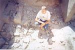 Кучка 23-мм снарядов. Город Газни