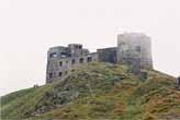 Залишки обсерваторії на Чорній горі